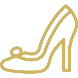 Bridal shoe icon