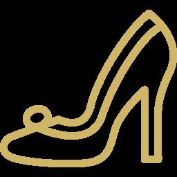Bridal shoe icon